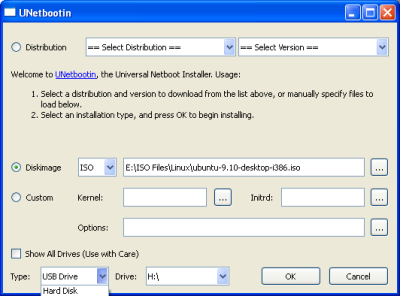 Install Linux Menggunakan Flashdisk
